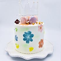 西点班培训生日蛋糕类